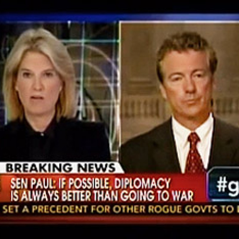 Paul's Straight Talk on Syria with Van Susteren