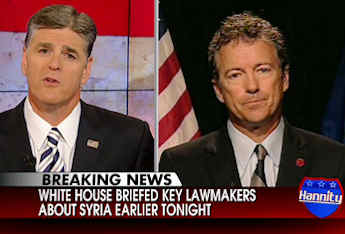 Paul Talks Syria, Impeachment, Obamacare with Hannity
