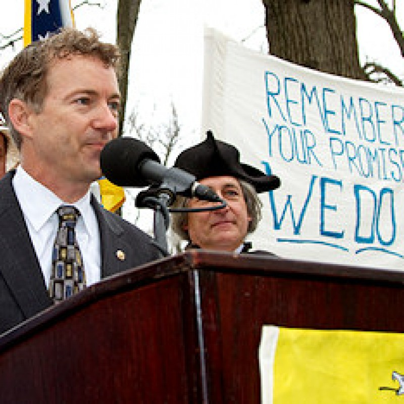 Righty Rand Paul becomes Lefty Darling