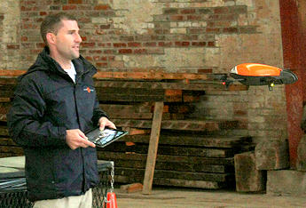 Building Fences in the Air and Amazon Drones