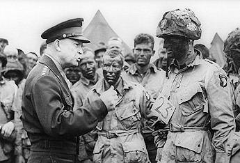 President Eisenhower's Yardstick: We're Following 'An Irrational Offense'