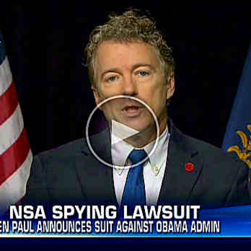 Paul's Suing Obama — Who's in?