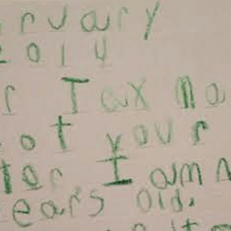 Childish Games: IRS Demands Six-Year-Old Boy to Respond Directly