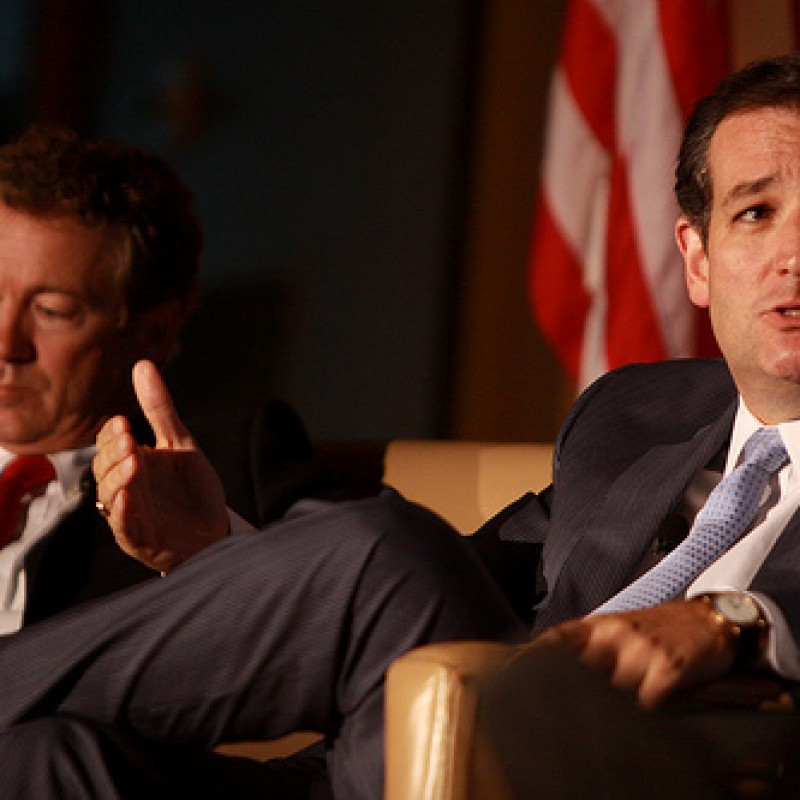 Senators Ted Cruz and Rand Paul Join Forces Against IRS Scandal