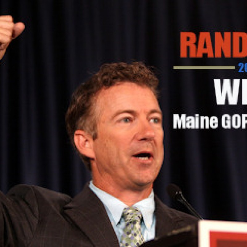 Can Rand Paul Cool Tensions Within the Maine GOP?