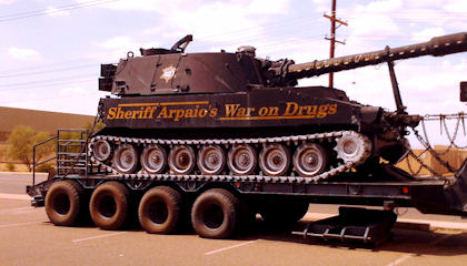 Warrior Cops: 'We Need an ArmoredTruck for the Pumpkin Festival'