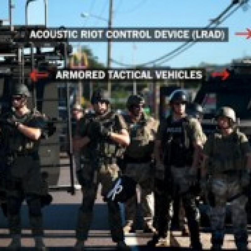 Does This Look Like 'Minimum Force' in Ferguson, Missouri?