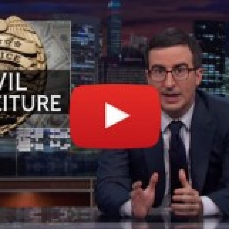 HBO's John Oliver Will Make You Laugh (Then Cry) About Cops Taking Your Cash