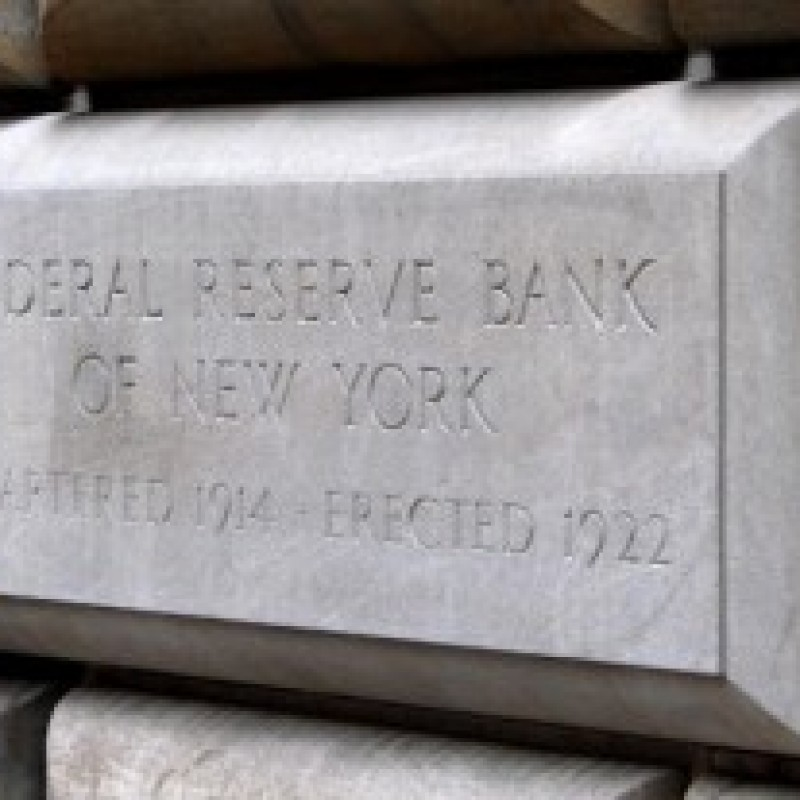 Shortly After The Audit the Fed Bill Passes, This Happens at the NY Fed