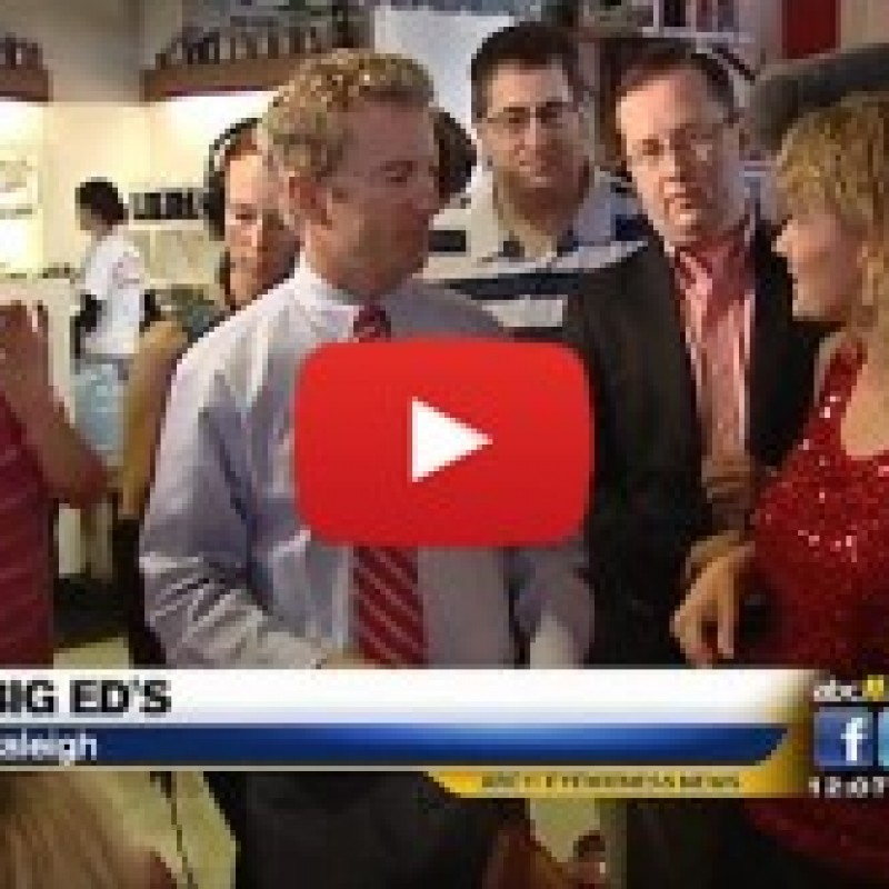 Rand Paul With Thom Tillis (VIDEO): We Want Choices First Not a Better Diet