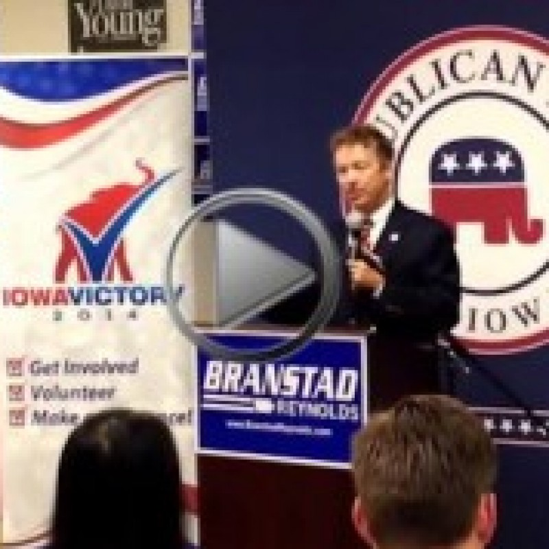 Highlights From Rand Paul's Last Day in Iowa (VIDEO)