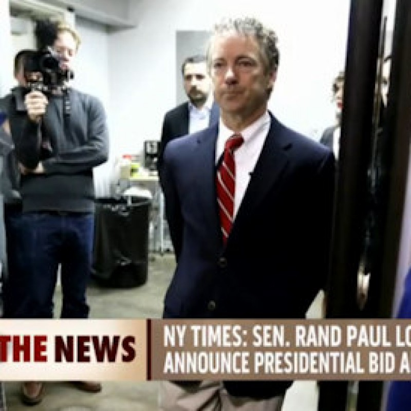What Will Rand Paul Announce On April 7th?