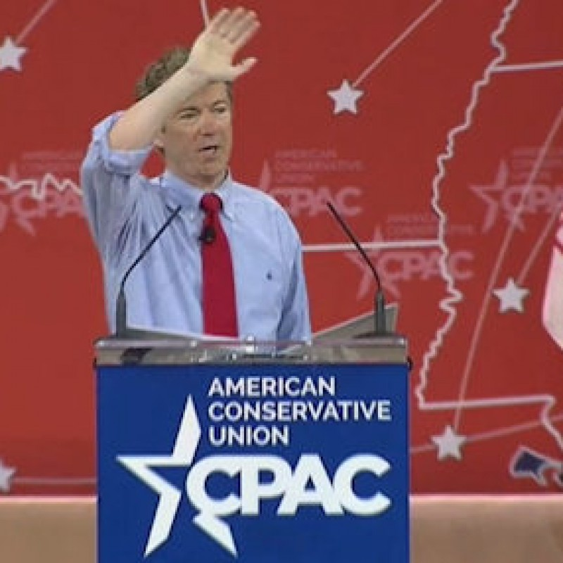 There's Only One Man That Counts At CPAC: Rand Paul