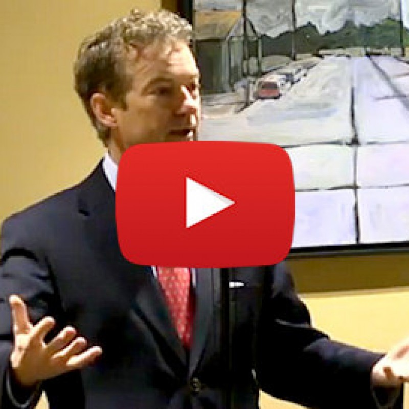 Rand Paul Inspires Young Professionals of Louisville (VIDEO)