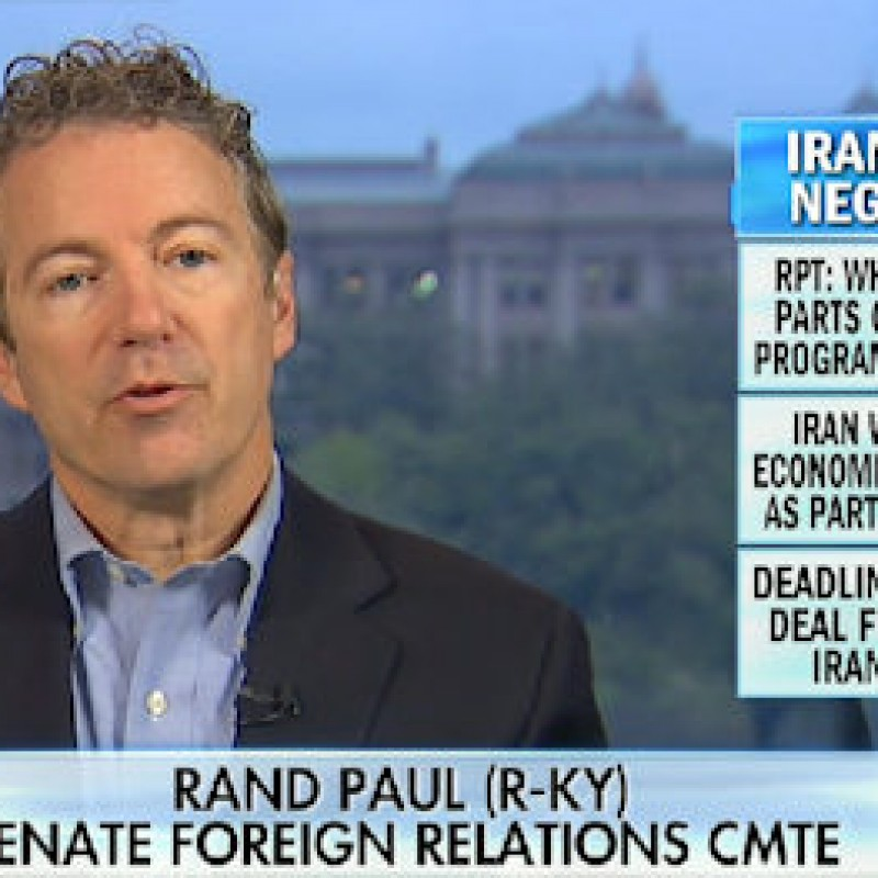 Rand Paul on Iran Letter: President Can't Un-Write Law