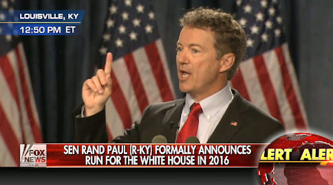 2016 Campaign Begins! The Speech That Changed Rand Paul's Life Forever