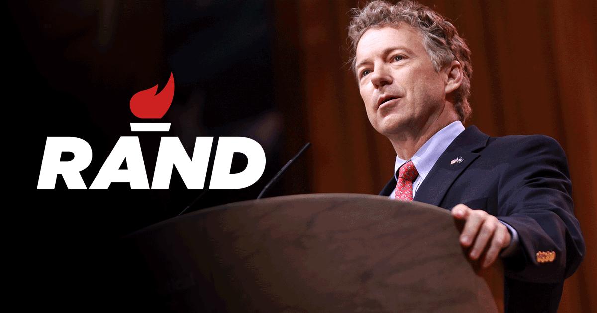 Rand Paul Announces his Run for Presidency