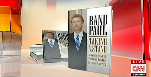 Why A Coffee Shop, Baseball Park And Club Are Important To Rand Paul's New Book