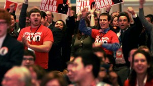 Get Your Shirt! Rand Paul Supporters Joining Him For Patriot Act Debate