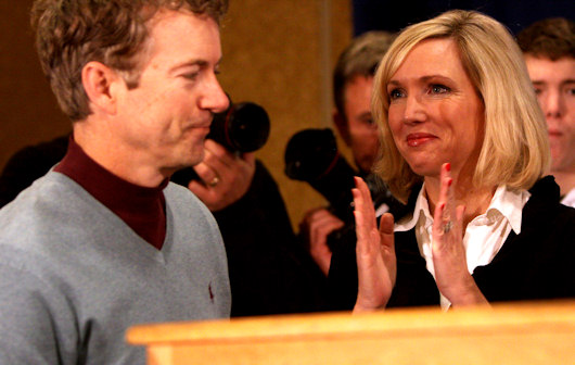 Why Rand Paul's Wife Is Critical To His Presidential Campaign