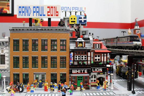 Rand Paul's Michigan Lego HQ