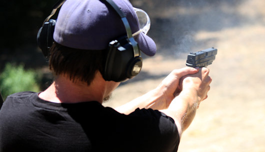 Bulls-eye! Paul Takes Several Shots At The Tax Code (And A NH Gun Bill)