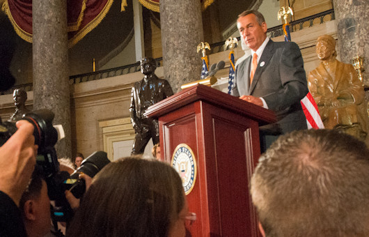 Boehner's Resignation Provides Rare Chance To Change Direction In Congress