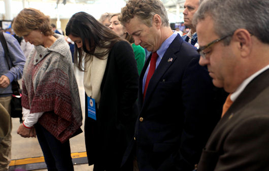 Rand Paul's Latest Book Examines The Christian Faith Of Presidents