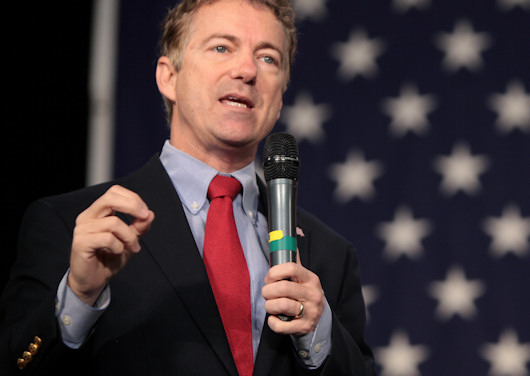 Carson and Trump No-Shows, Rand Steps On Stage At Growth & Opportunity Party