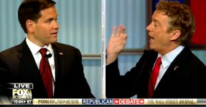 Paul Goes Head To Head With Rubio Over Military Spending