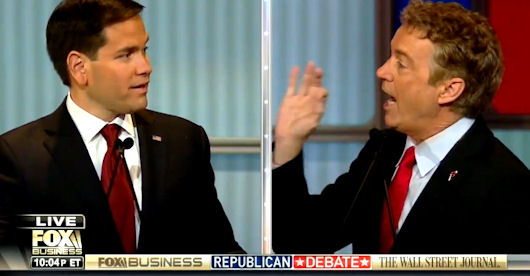 Going Head To Head With Rubio Over Military Spending