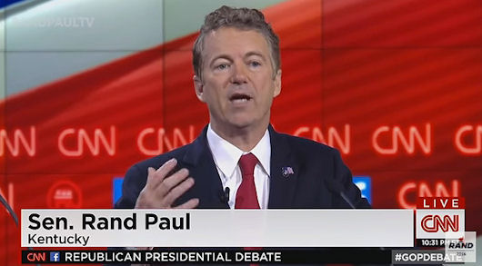 5th GOP Debate Again Affirms Rand Paul's Liberty-Minded Ideals