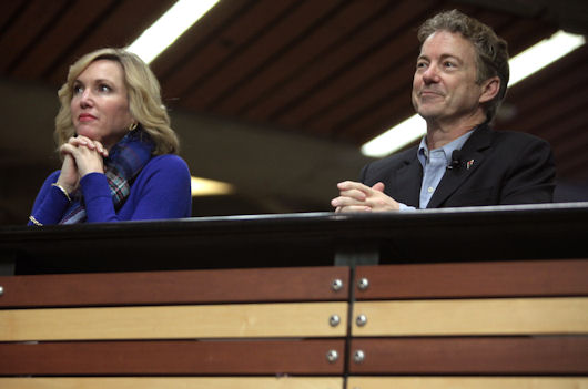 Rand Paul Not Giving Up After Iowa Caucus