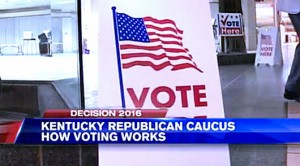 Kentucky Presidential Caucus May Have Some Voters Confused