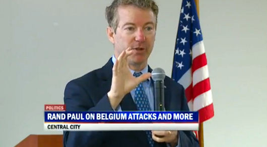 "Rand Paul Responds To Brussels Terrorist Attacks: ""We Have To Be Prepared To Defend Ourselves"""