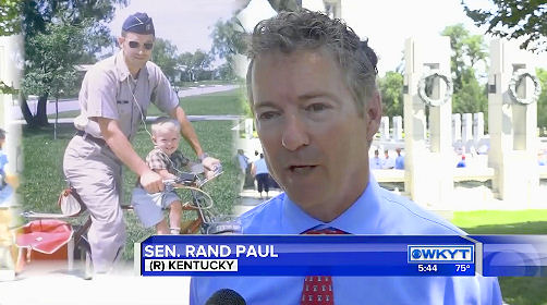 Rand Joins Veterans On Honor Flight Of The Bluegrass