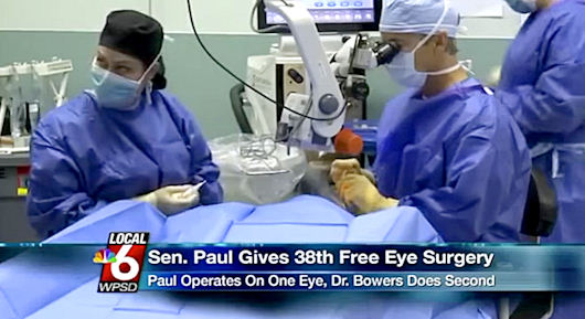 Why Restoring Sight To Blind Was More Important Than RNC Convention